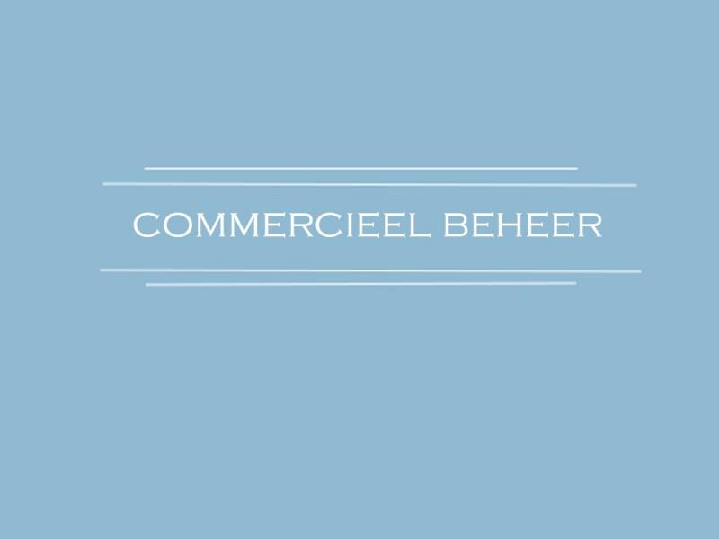 commercieel beheer 1